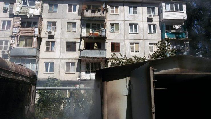 На Комсомольской набережной в Астрахани произошёл взрыв