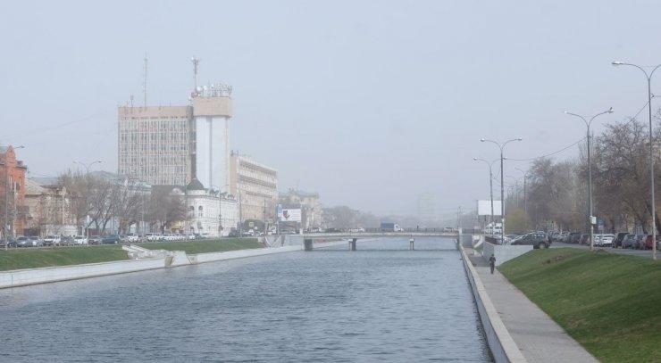 Роспотребнадзор прокомментировал смог над Астраханью