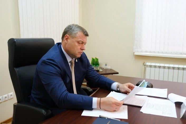 Астраханский губернатор принимает граждан по поручению Владимира Путина