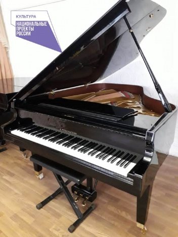 Юным ахтубинским музыкантам купили концертный рояль