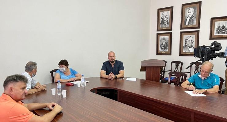 Максим Терский: «Предвыборная кампания будет свободной, открытой и честной»