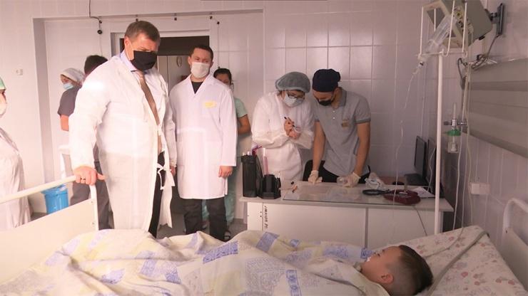 Врачи прокомментировали состояние детей, отравившихся хлором в бассейне «Динамо»