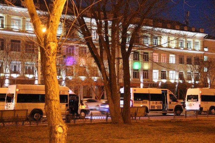 В Астрахани приостановлена работа всего общественного транспорта